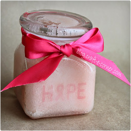 Breast cancer gifts basket