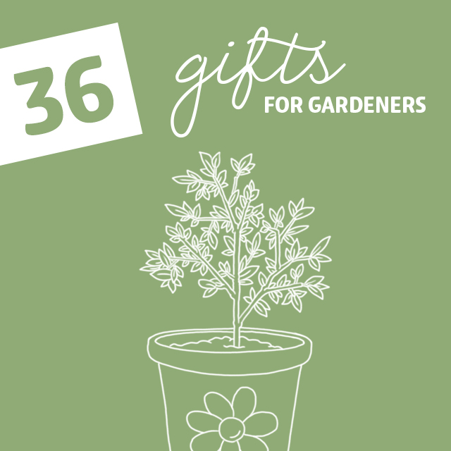 36 Gifts for Gardeners with the Green Thumb - Dodo Burd