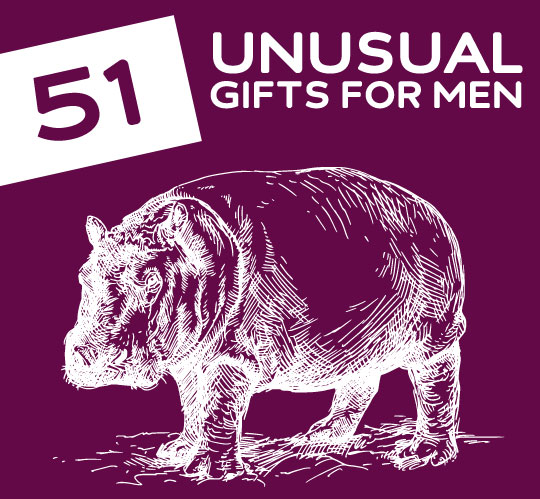 51 Awesomely Unusual Gifts For Men And Other Freaky You Never Knew Existed